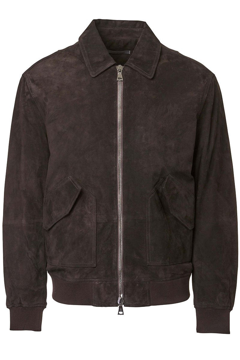 John Varvatos, Suede Flight Jacket