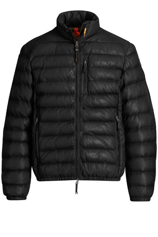 Ernie Leather Puffer Jacket