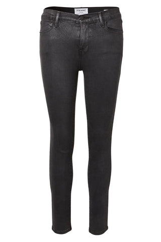 FRAME, Le High Coated Skinny Jeans