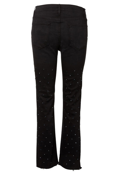 Le High Straight Embellished Stud Jeans