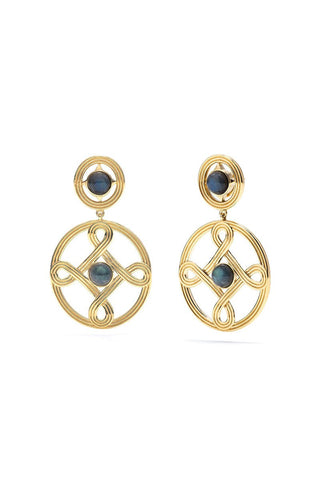 Capucine De Wulf, Monique Double Earrings