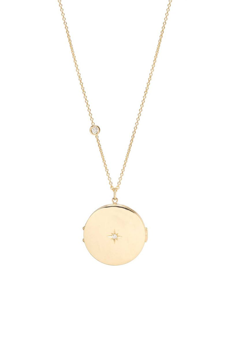 Zoë Chicco, Diamond Locket Necklace