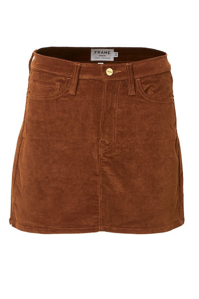 Le Mini Corduroy Skirt