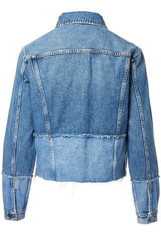 FRAME, Pieced Denim Jacket
