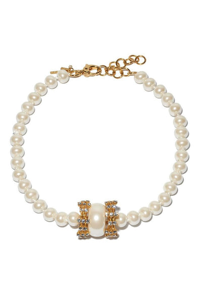 Lele Sadoughi, Pearl Copacabana Necklace