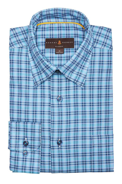 Robert Talbott, Plaid Sportshirt