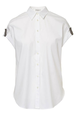 Brunello Cucinelli, Monili Tab Blouse