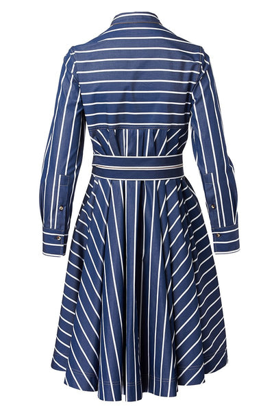 Brunello Cucinelli, Striped Shirt Dress