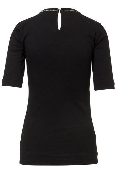 Ribbed Jersey T-Shirt