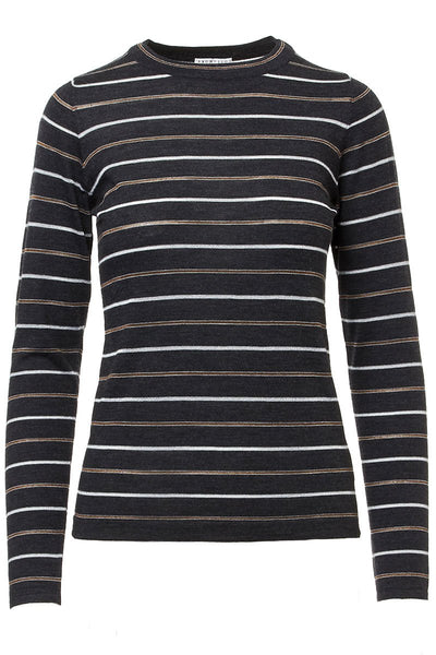 Lamé Stripe Sweater