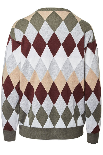 Brunello Cucinelli, Dazzling Argyle Sweater