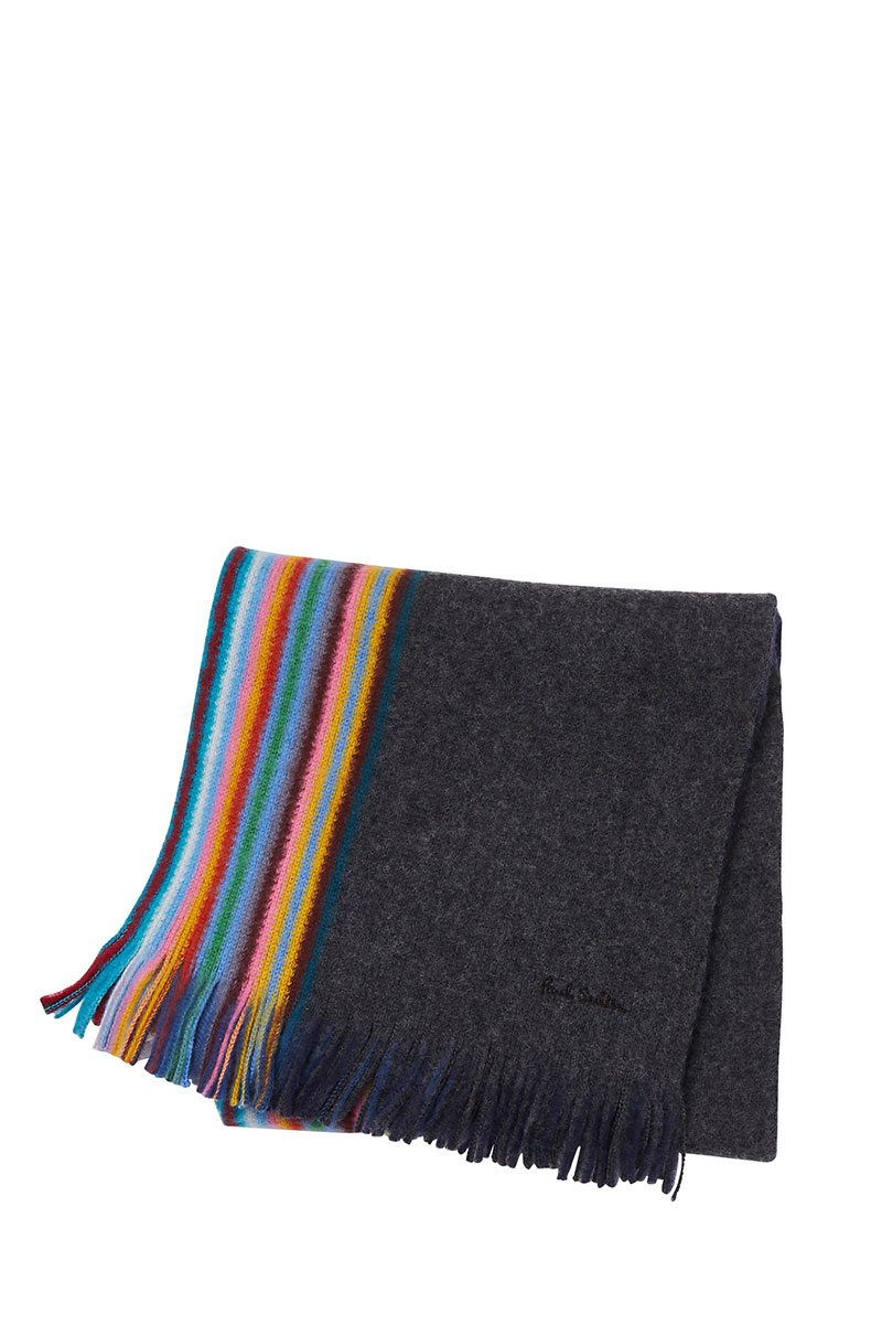 Striped Edge Scarf
