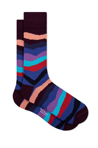 Mountain Stripe Socks