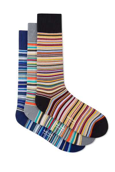 Socks 3 Pack - Signature Stripe