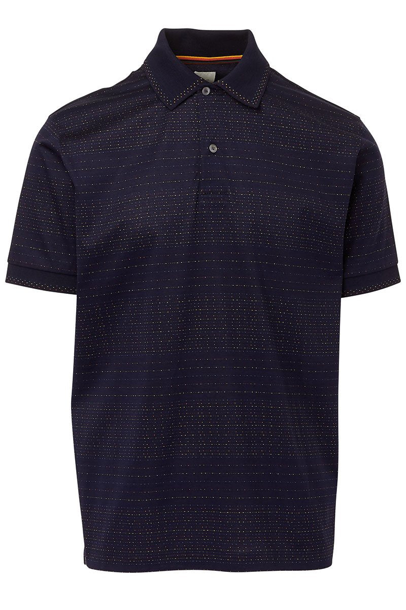 Paul Smith, Artist Stripe Jacquard Polo
