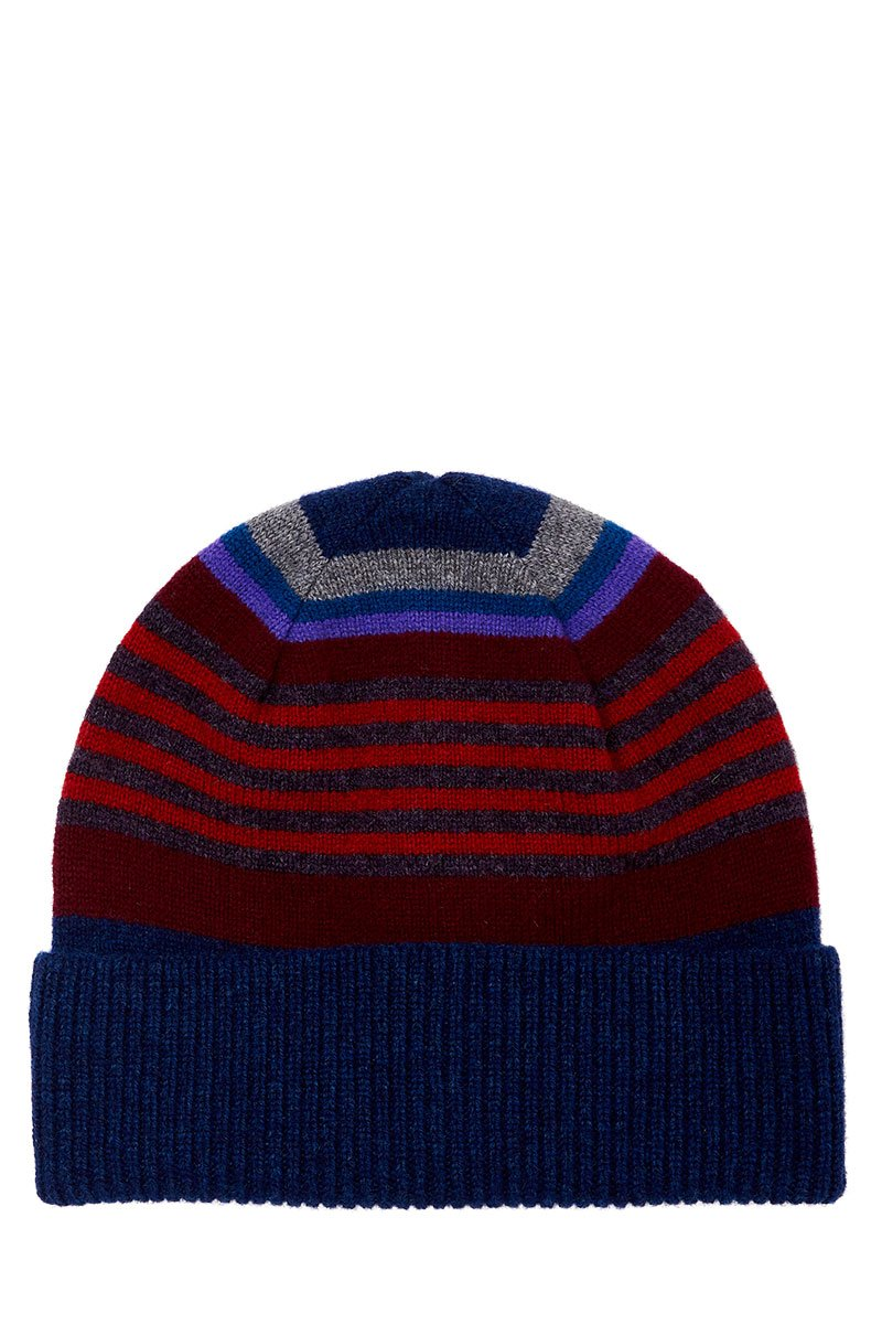 Paul Smith, Stripe Ribbed Beanie