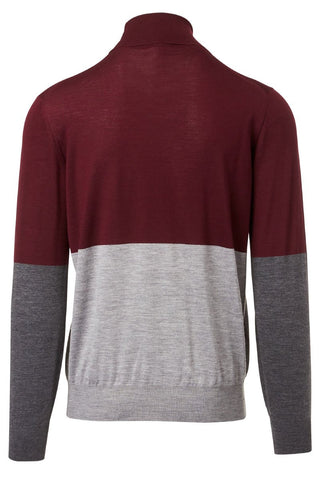 Brunello Cucinelli, Colorblock Turtleneck Sweater