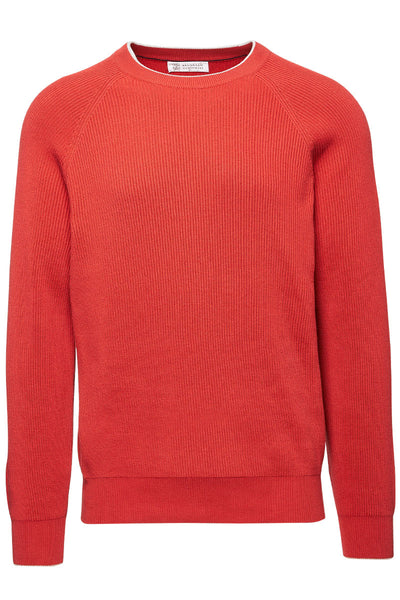 English Rib Crewneck Sweater
