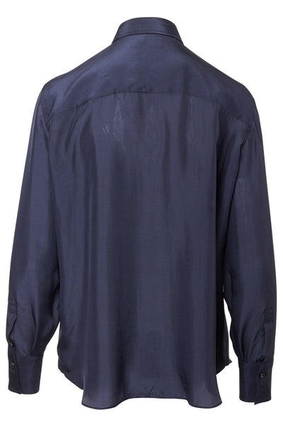 Brunello Cucinelli, Shiny Placket Blouse
