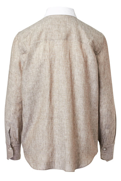 Brunello Cucinelli, Satin Panel Shirt