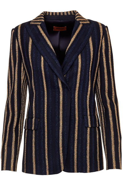 Missoni, Metallic Striped Blazer