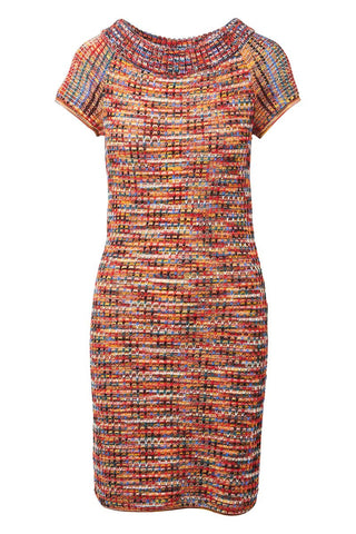 , Rainbow Knit Dress