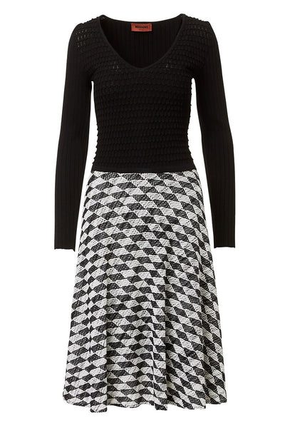 Missoni, Bold Diamond Colorblock Dress