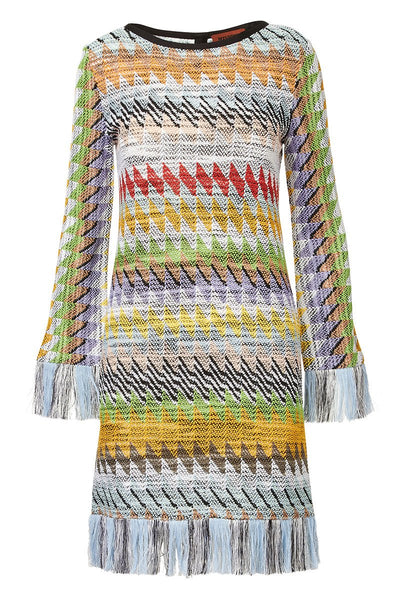 Missoni, Zig Zag Fringe Dress
