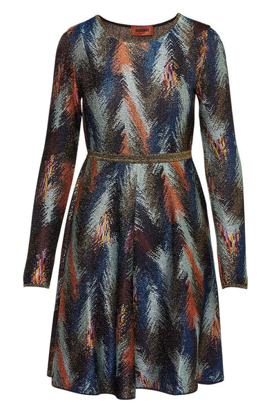 Missoni, Feather Knit Dress