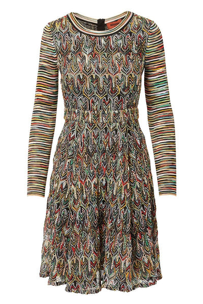 Missoni, Mixed Knit Dress