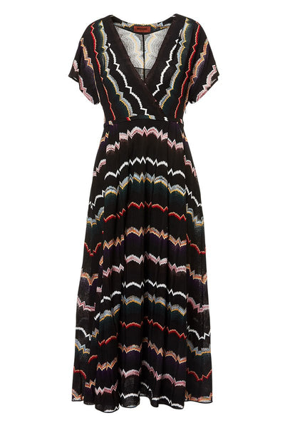 Missoni, Wrap Front Knit Dress