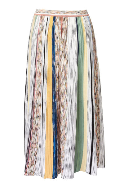 Missoni, Stripe Knit Midi Skirt