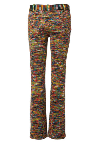 Rainbow Knit Pants