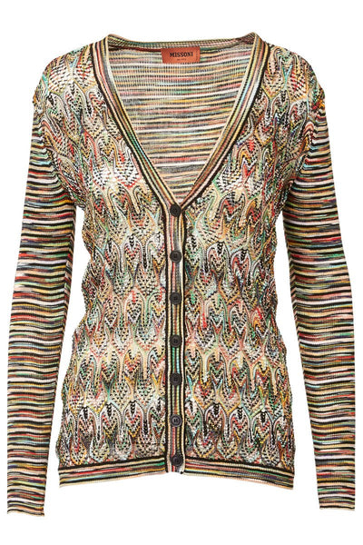 Missoni, Mixed Knit Cardigan