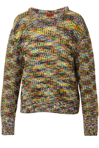 , Colorful Knit Sweater