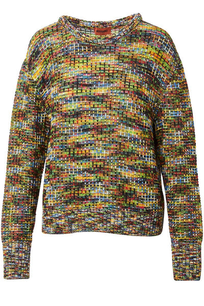 Missoni, Colorful Knit Sweater