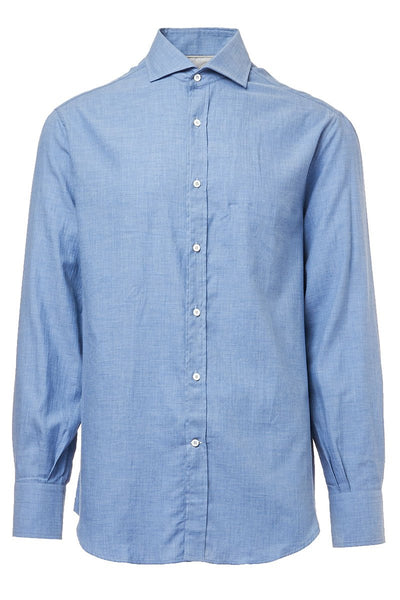 Blue Basic Fit Shirt