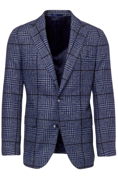 Atelier Munro, Brushed Windowpane Jacket