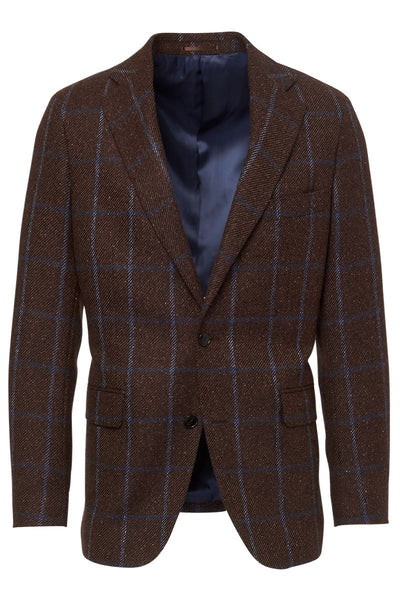 Atelier Munro, Windowpane Check Jacket