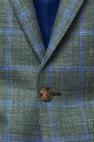 Atelier Munro, Jade Windowpane Jacket