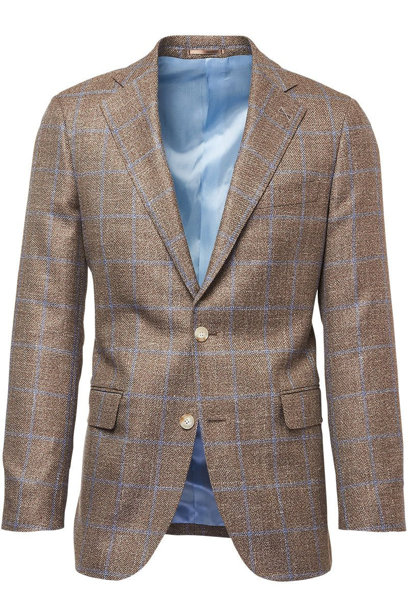 Atelier Munro, Taupe Windowpane Jacket