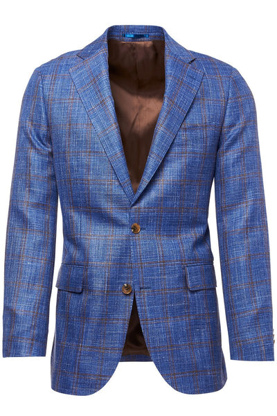 Atelier Munro, Blue Plaid Jacket