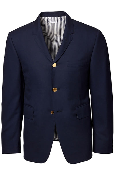 Striped Placket Sportcoat