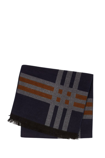 Chelsey Imports, Grid Print Scarf