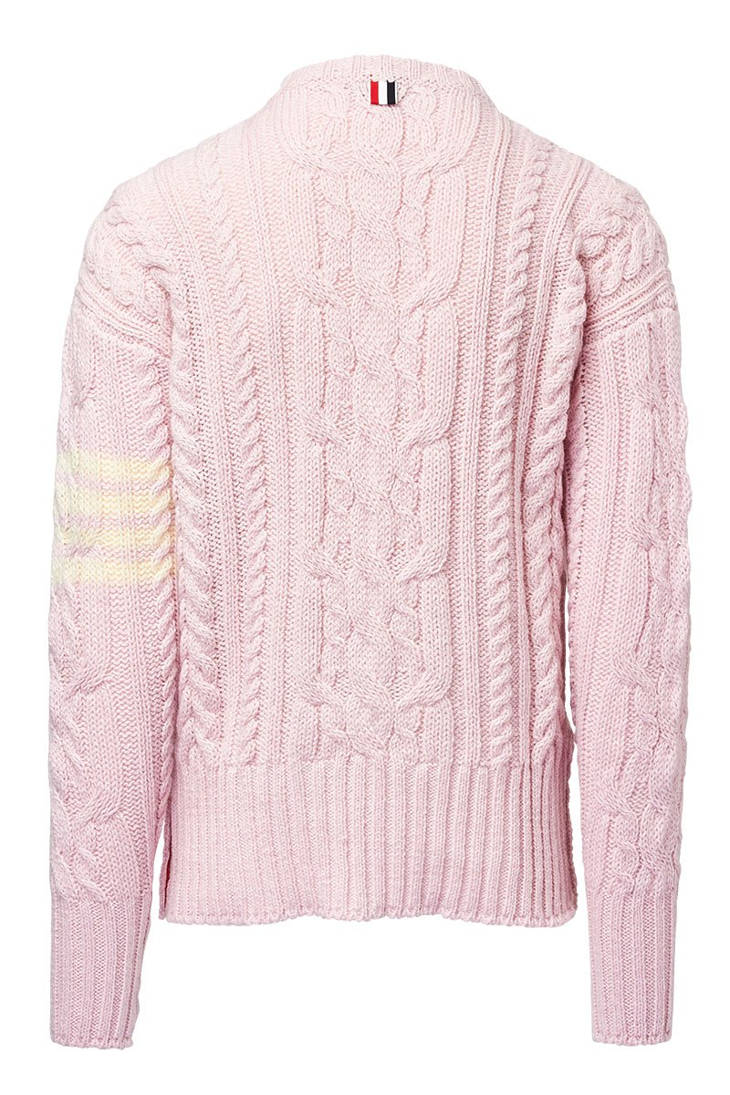 Thom Browne, Aran Cable Pullover