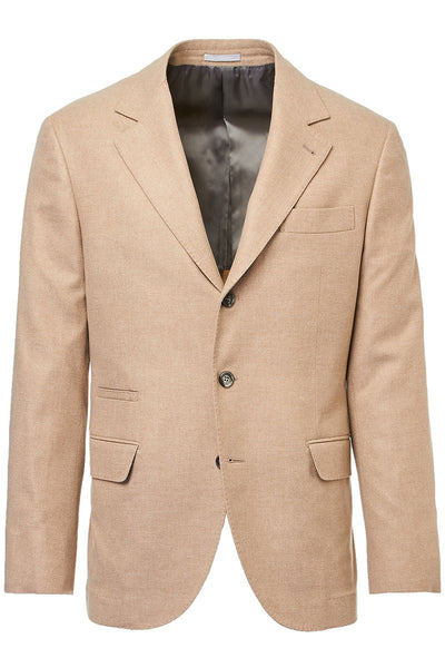 Camel Wool-Cashmere Sportcoat