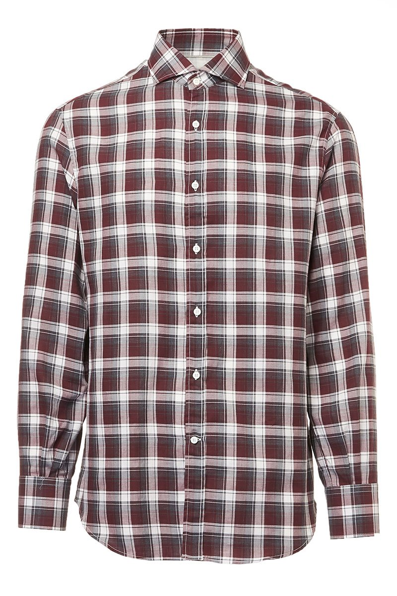 Madras Flannel Shirt