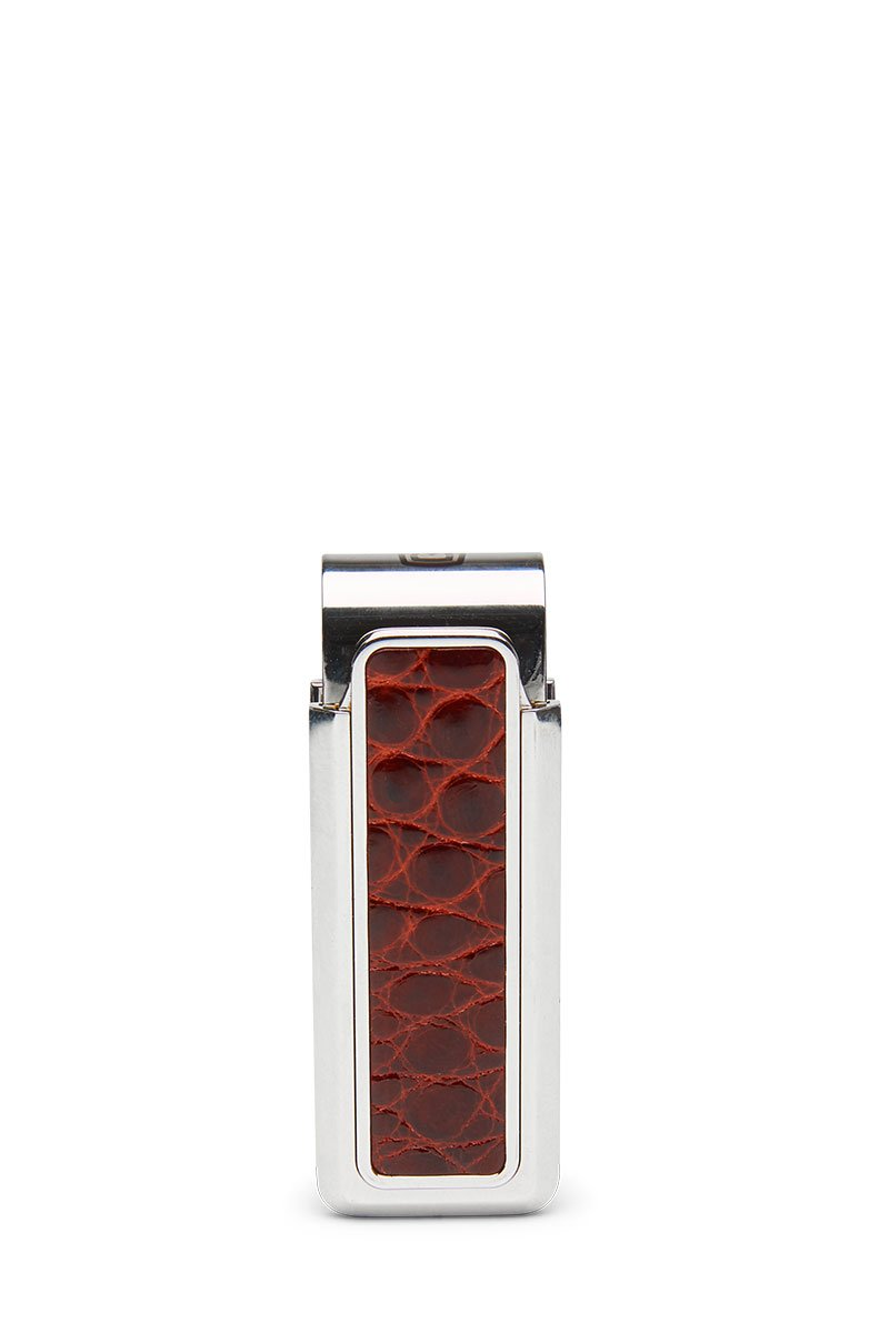 M-Clip, Monterey Rhodium Alligator Money Clip