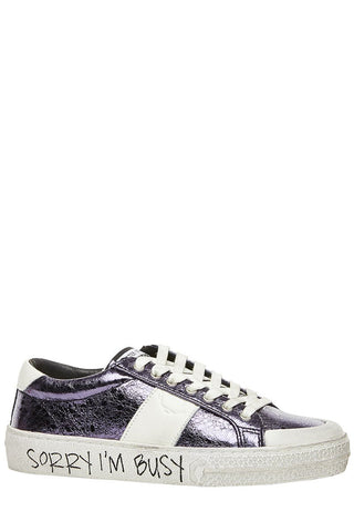 Metallic Park Sneakers