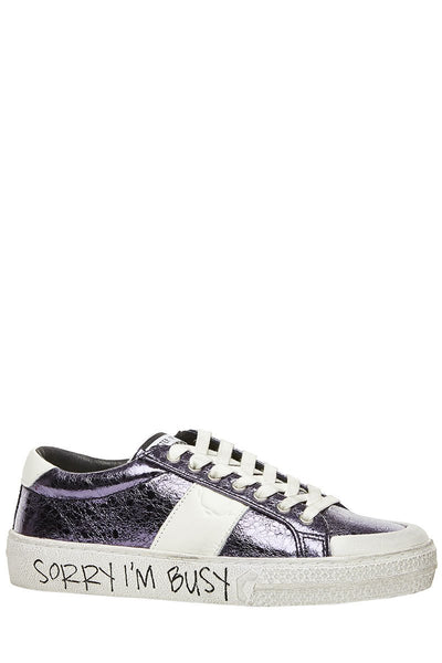 Master of Arts, Metallic Park Sneakers